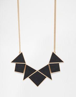 Collier triangle asos