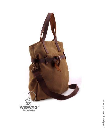 e66532608f34 Женские сумки ручной работы. Ярмарка Мастеров - ручная работа. Купить  Вместительная женская сумка со съемным кожаным ремнем. Handmade.