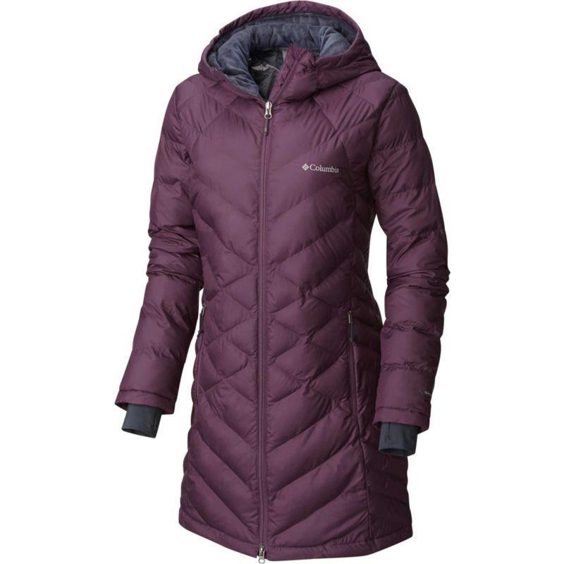 c35ec53ca8632 Plus Size Columbia Women s Plus Heavenly Long Hooded Down Jacket ...
