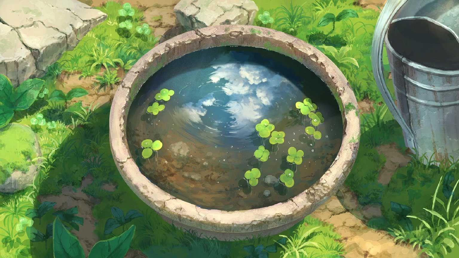 Flowerpot Wallpaper Engine Free Ghibli Art Environmental Art Environment Concept Art