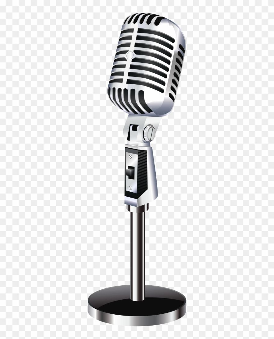 Download Hd Clip Art Microphone Retro Microphone Png Transparent Png And Use The Free Clipart For Your Creative Project Clip Art Microphone Old Microphone