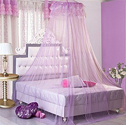 GroB Amazon.com: Aksautoparts Romantic Lace Bed Canopy Women Girls Princess  Mosquito Nets Indoor (