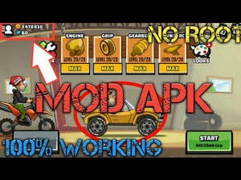 hill climb racing 2 hack version mod apk