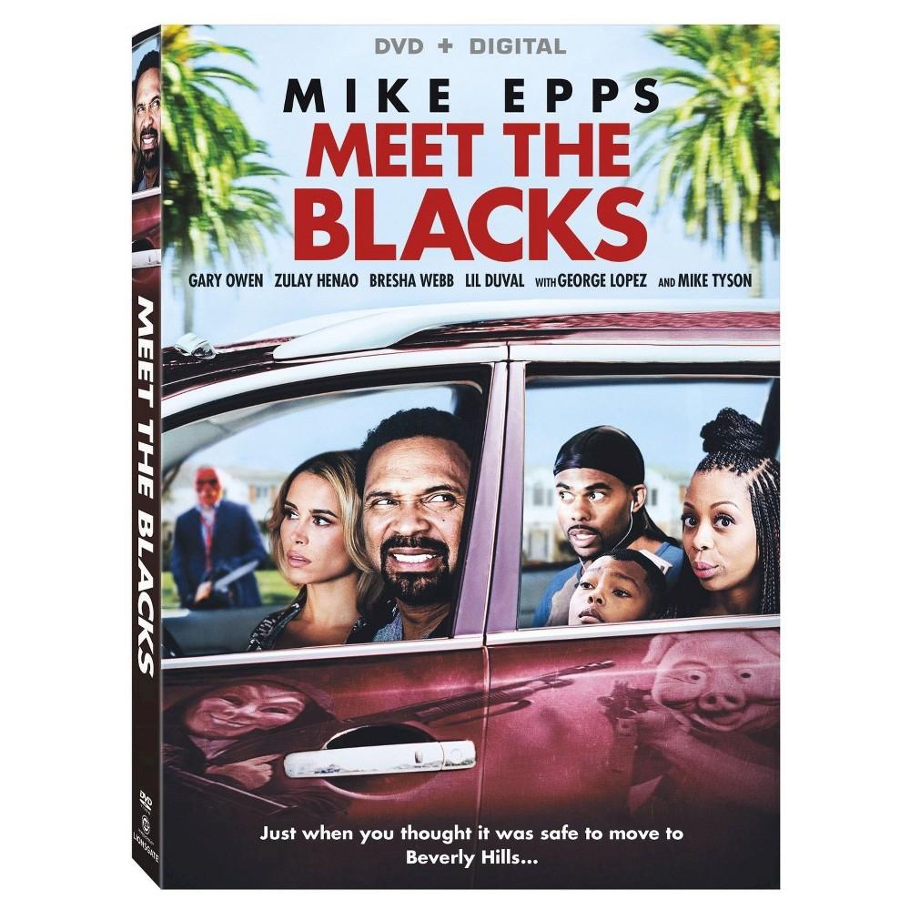 Meet the Blacks (DVD + Digital) Mike epps, Dvd blu ray