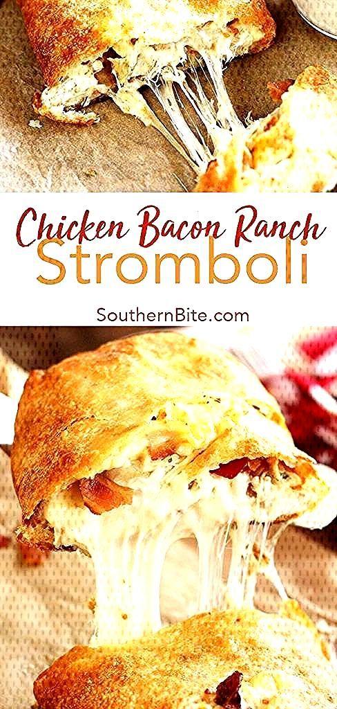 Sie benötigen nur 5 Zutaten, um diese schnelle und einfache Chicken Bacon Ranch Strom zu erhalten