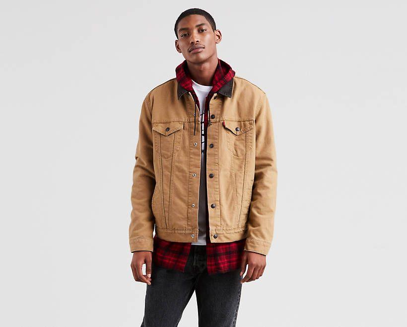 Levi's Levi's® x Justin Timberlake Canvas Trucker Jacket