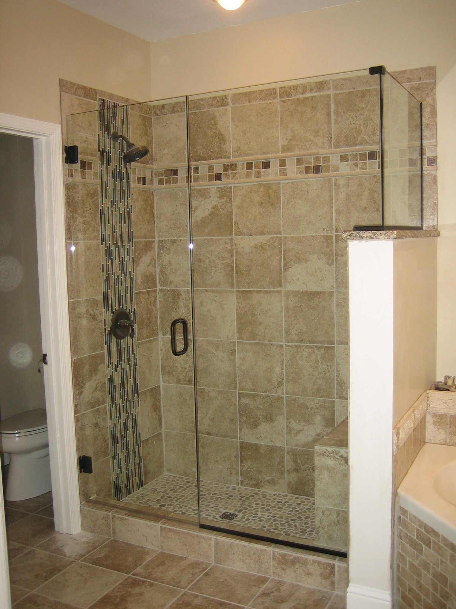 Tile Shower Enclosure Ideas   Google Search