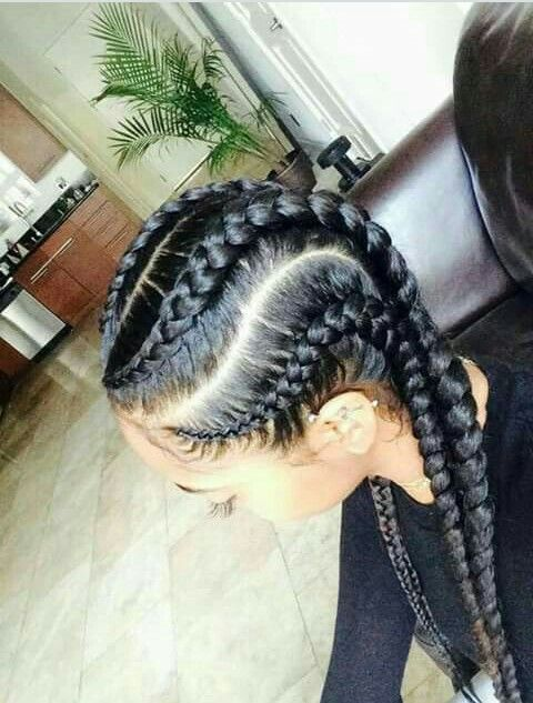 Pin By My Info On Hair Goals Natural Hair Styles Hair Styles Cornrow Hairstyles