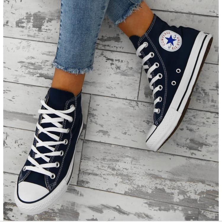 Converse Shoes | New Converse Chuck Taylor Navy High Tops