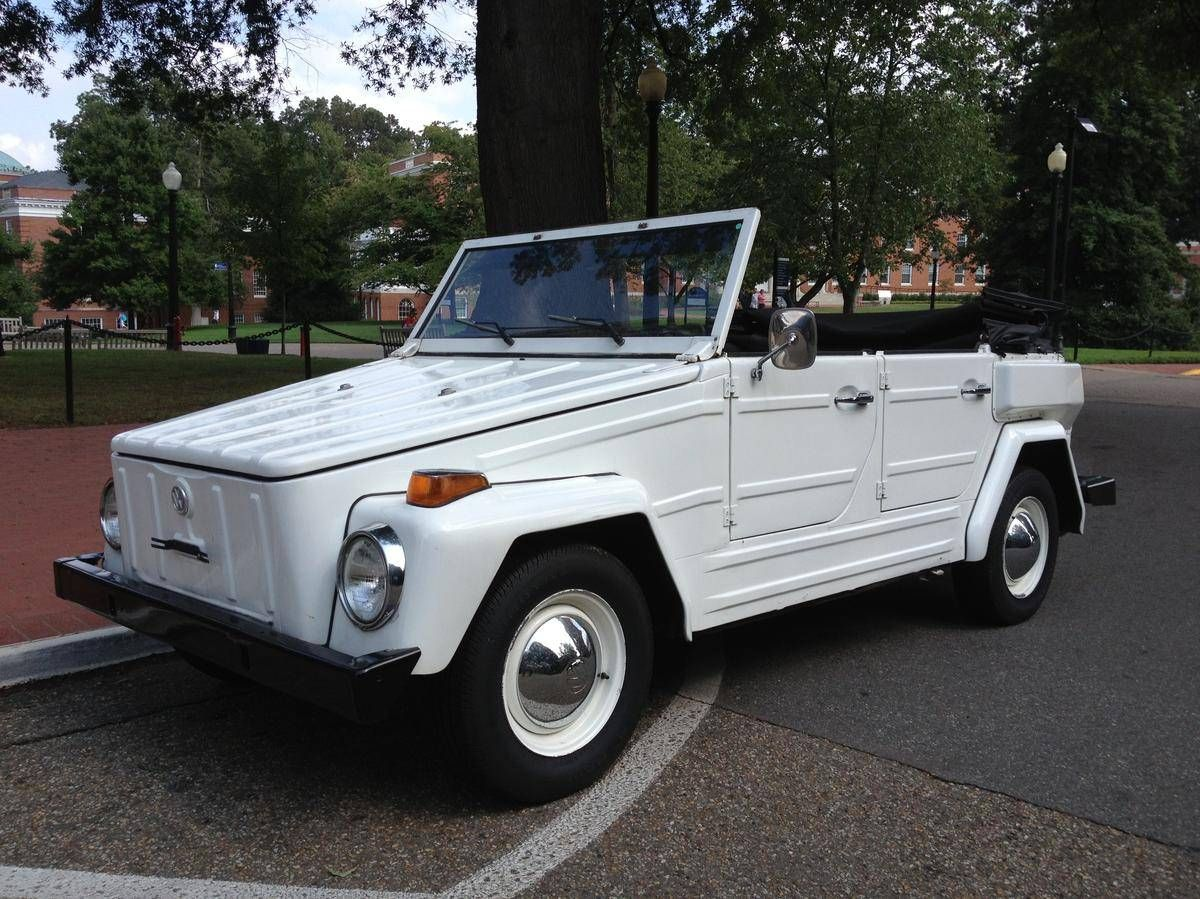 Volkswagen Thing For Sale >> 1974 Volkswagen Thing Convertible Softop Volkswagen Thing
