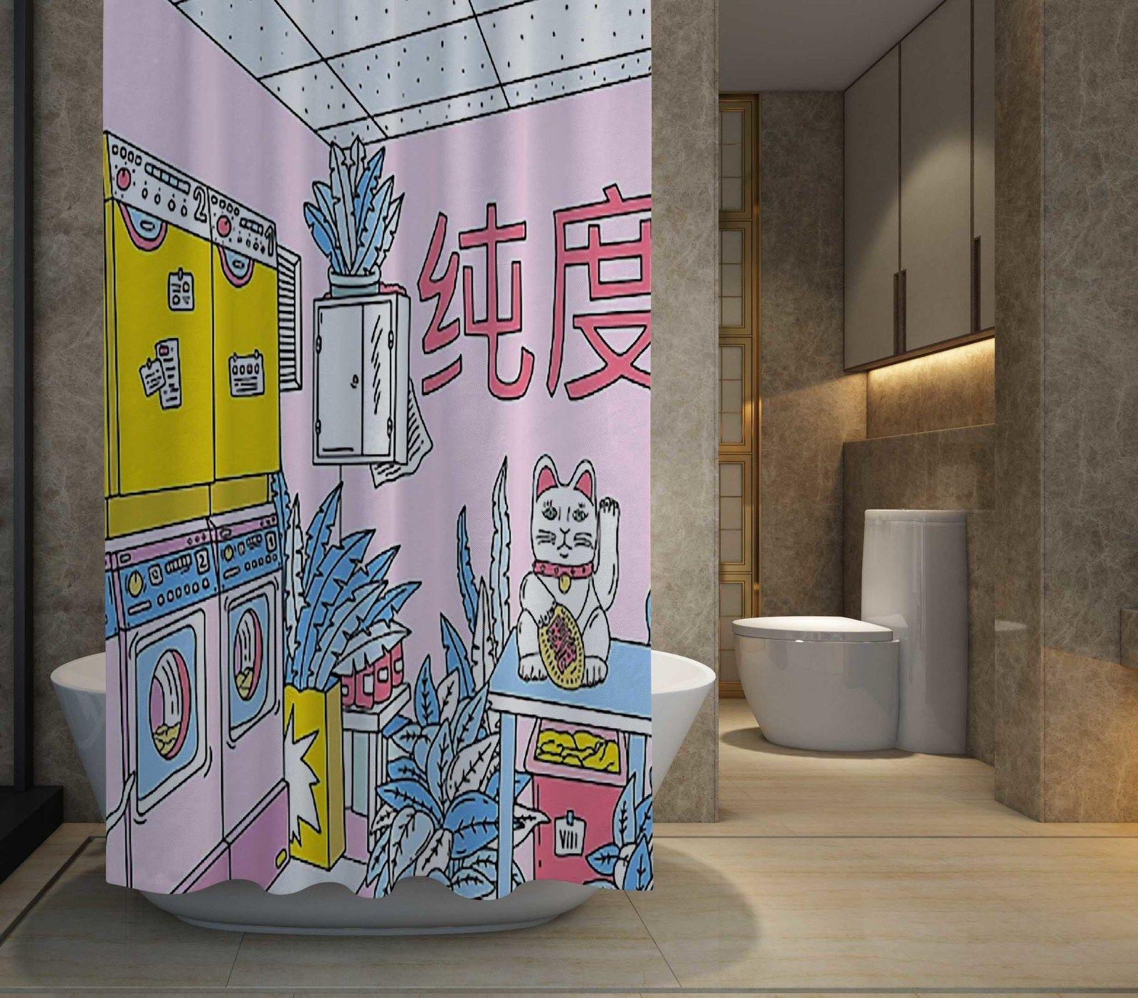 Shower Curtain Showercurtain Bath Decor Home Supreme Gucci