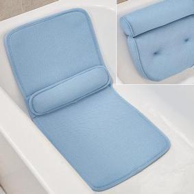 Bathtub Spa Bath Pillow Mattress Full Body Luxury Quilted Mat /&Bath Pillow US