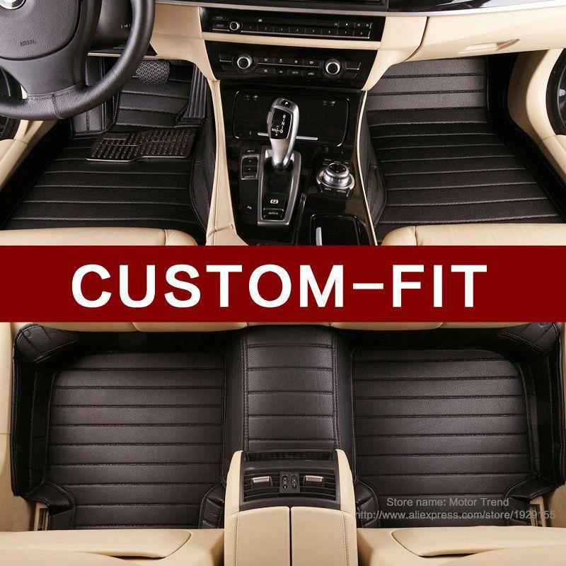 사용자 맞춤 자동차 바닥 매트 도요타 캠리 40 화관 왼쪽 페이지 FJ 랜드 크루저 LC 200 프라도 150 120 3D 자동차 스타일링 카펫
