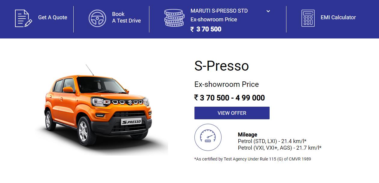 Visit Bhatia Maruti Suzuki Showroom Kota to Buy New Car in