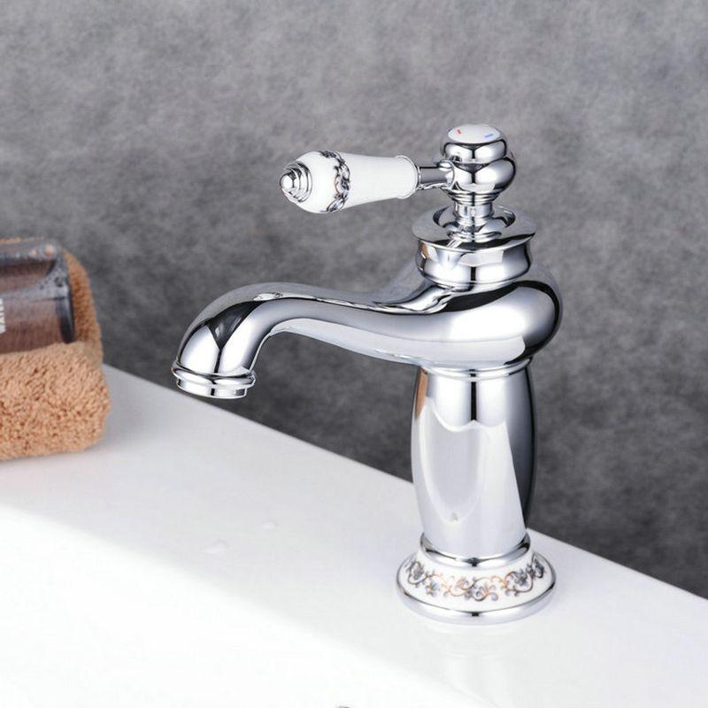 Eu Lager Waschtischarmatur Modern Einhandmischer Bad Silber Bad