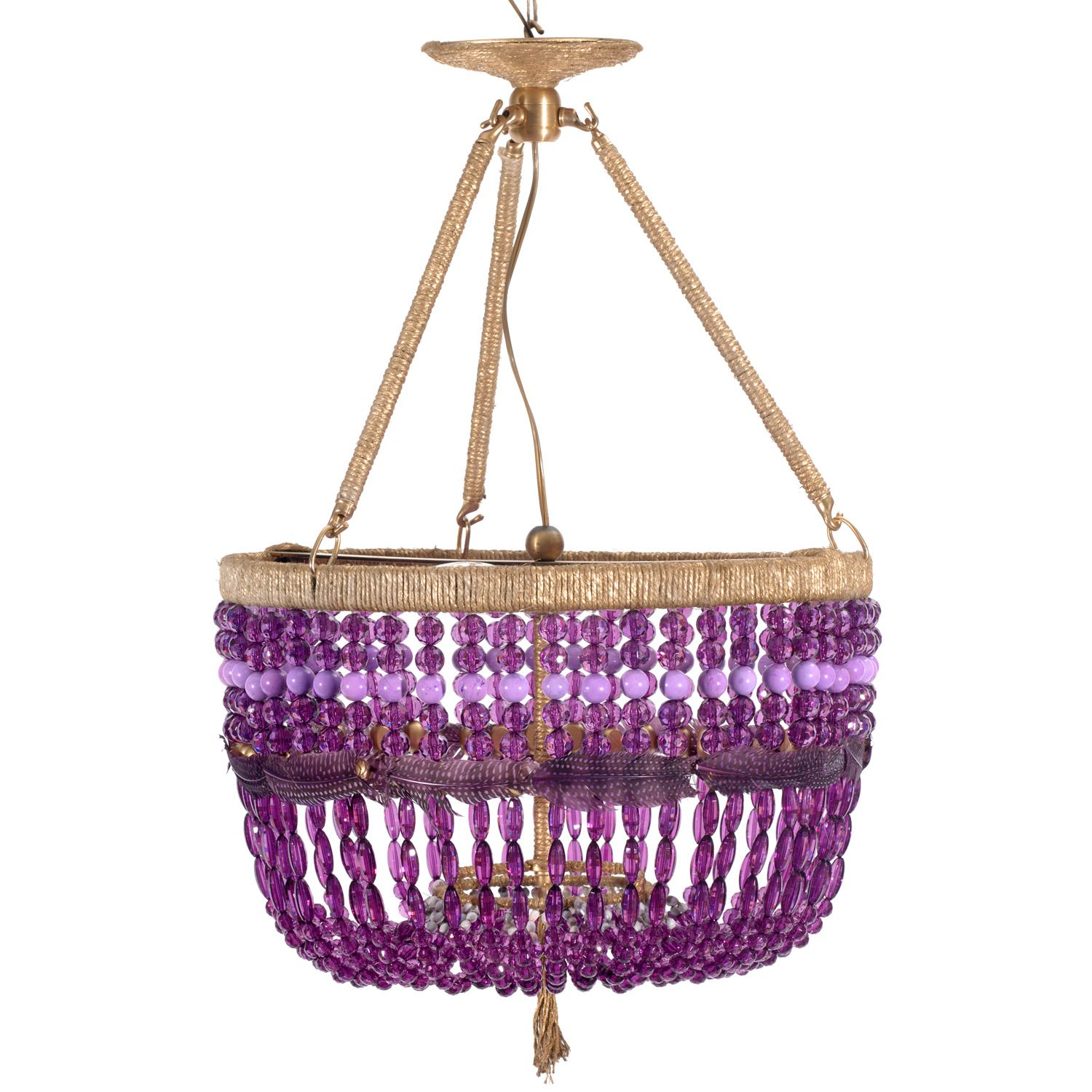 Ro sham beaux roxanne purple pendant rsb furniture u stuff i