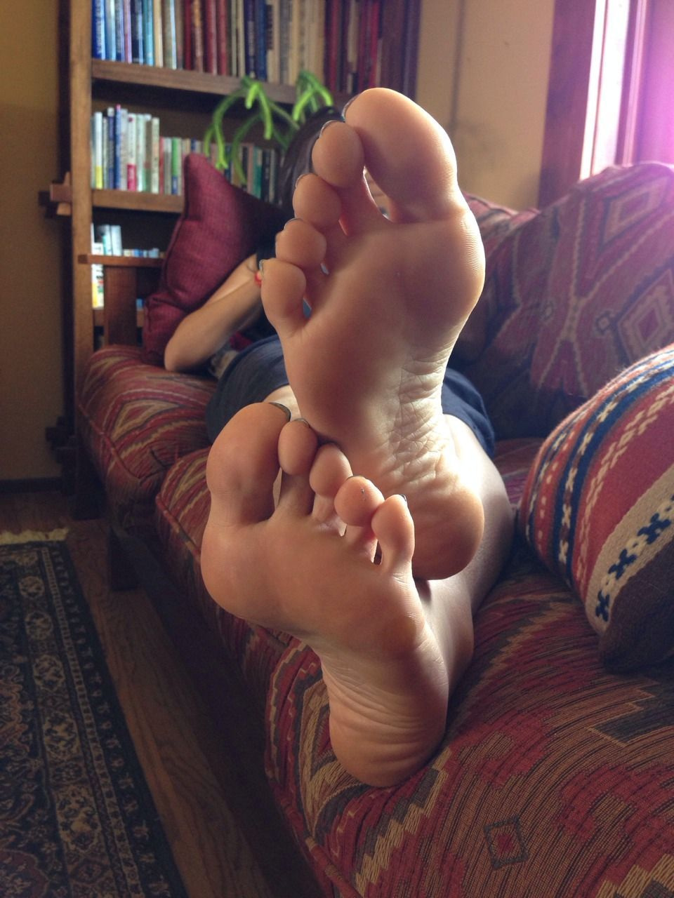 Sexy ass and foot