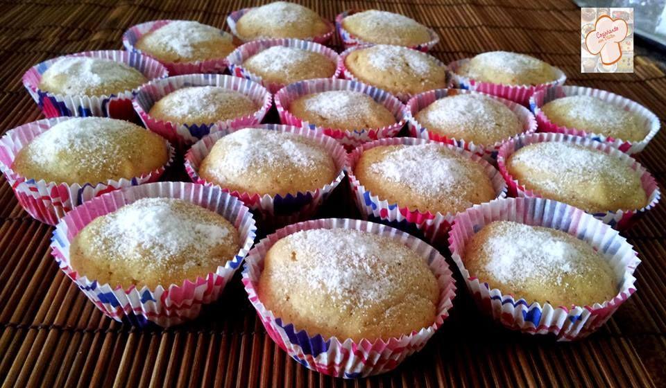 Cozinhando sem Glúten: Mini bolinhos de maçã e canela