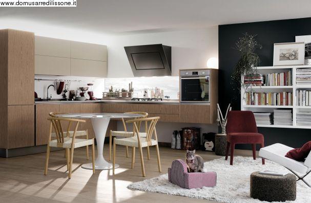 Veneta cucine modello Extra con gola   Arredamento Cucina   Pinterest
