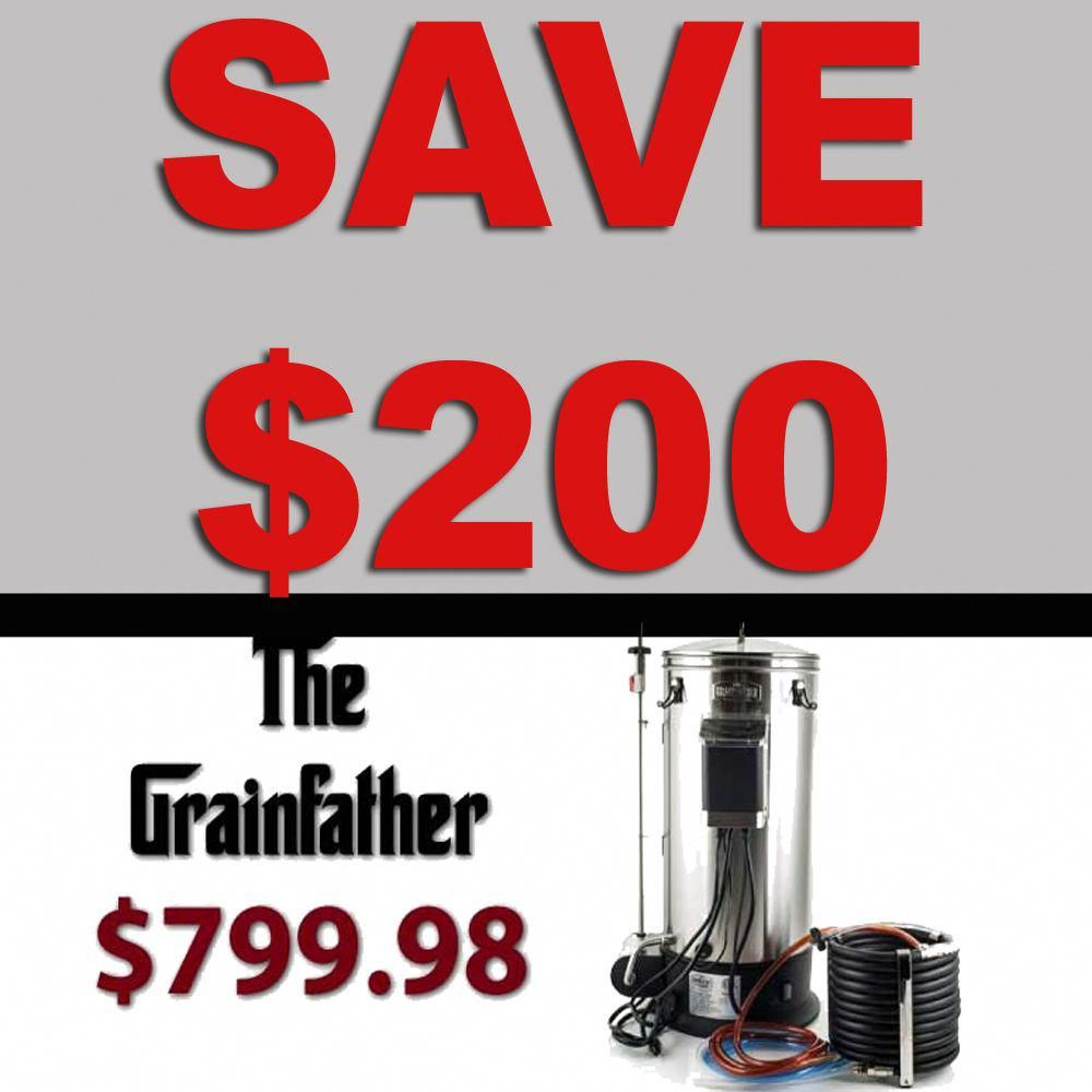 Grainfather Promo Code Save 200 Plus Get Free Shipping Grainfather Grain Father Homebrew Homebrewing Hom Home Brewing Beer Home Brewing Homebrew Setup