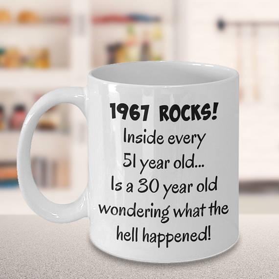 51st Birthday Mug 51st Birthday Gift Birthday Present Birthday