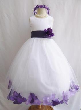 59b6921a234 Rose Petal Dress Combination Lilac and Purple (Custom Colors ...