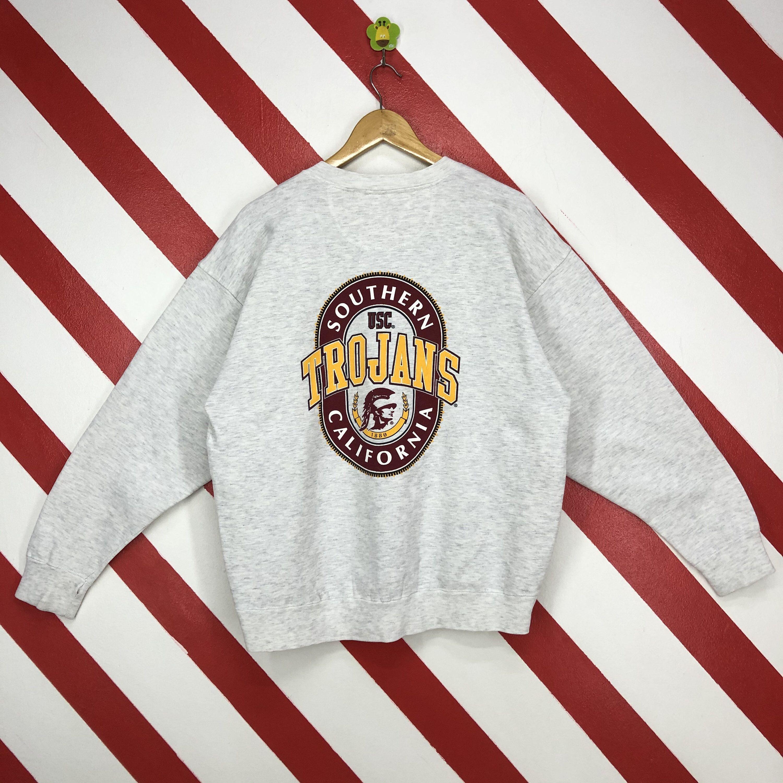 Vintage 90s Usc Trojans Sweatshirt Crewneck Usc Trojans Etsy Sweatshirts 90s Sportswear Polo Ralph Lauren Sweatshirt [ 3000 x 3000 Pixel ]