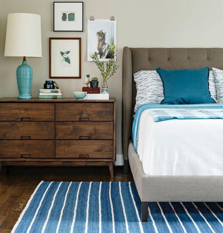alfombra azul dormitorio | decoracion en 2018 | pinterest