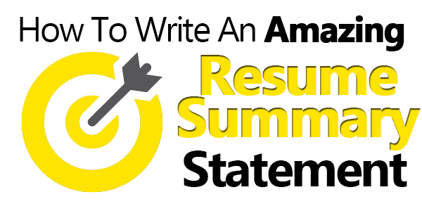 Write An Amazing Resume Summary Statement (6 Examples Included) - Resume summary statement, Resume summary, Resume summary examples, Resume examples, Summary writing, Resume - How to create great resume summary statements that will land you the interview  Includes the mistakes to avoid and 6 great resume summary examples