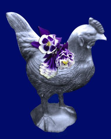 Rooster- Farm Rooster Planter