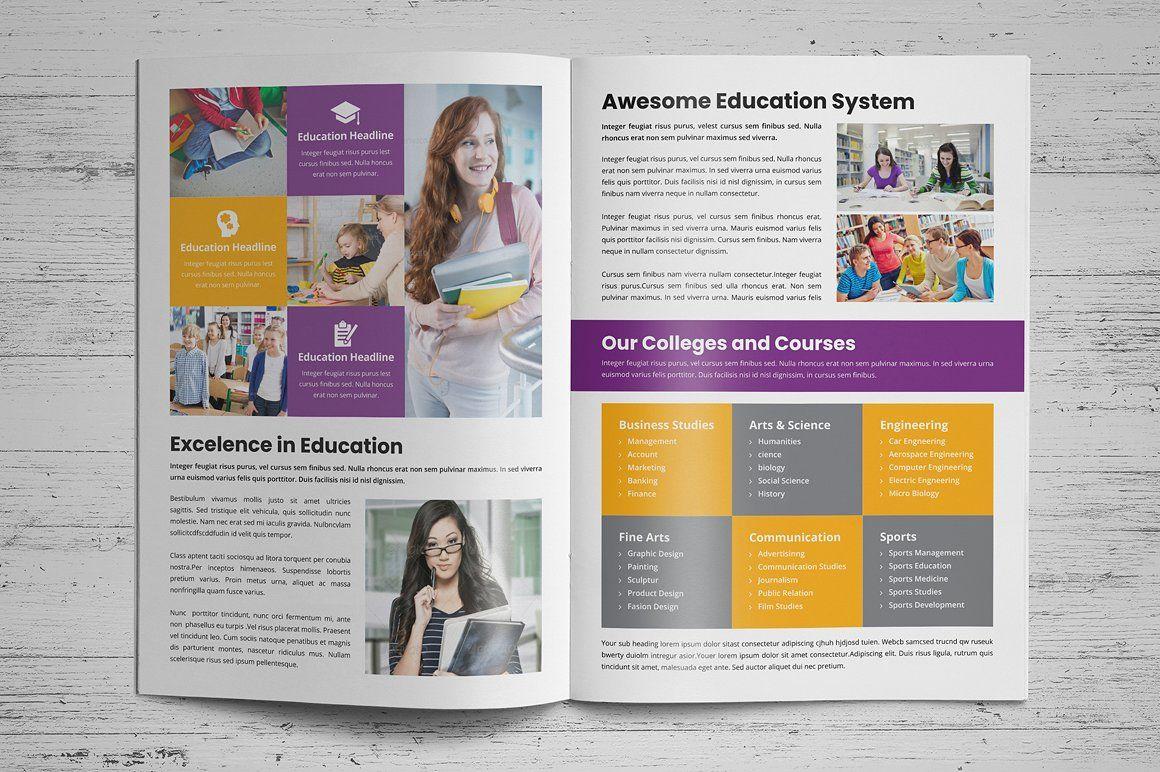 Education Prospectus Brochure V3 Education Brochures Brochure Design Education