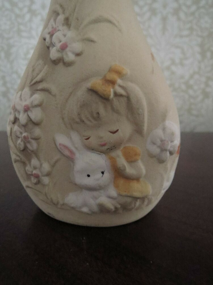 Gift for Mom Mothers Day Gift Grandmother Eco-Friendly Vintage UCTCI Tulip Vase Girl Snail Redhead Japan