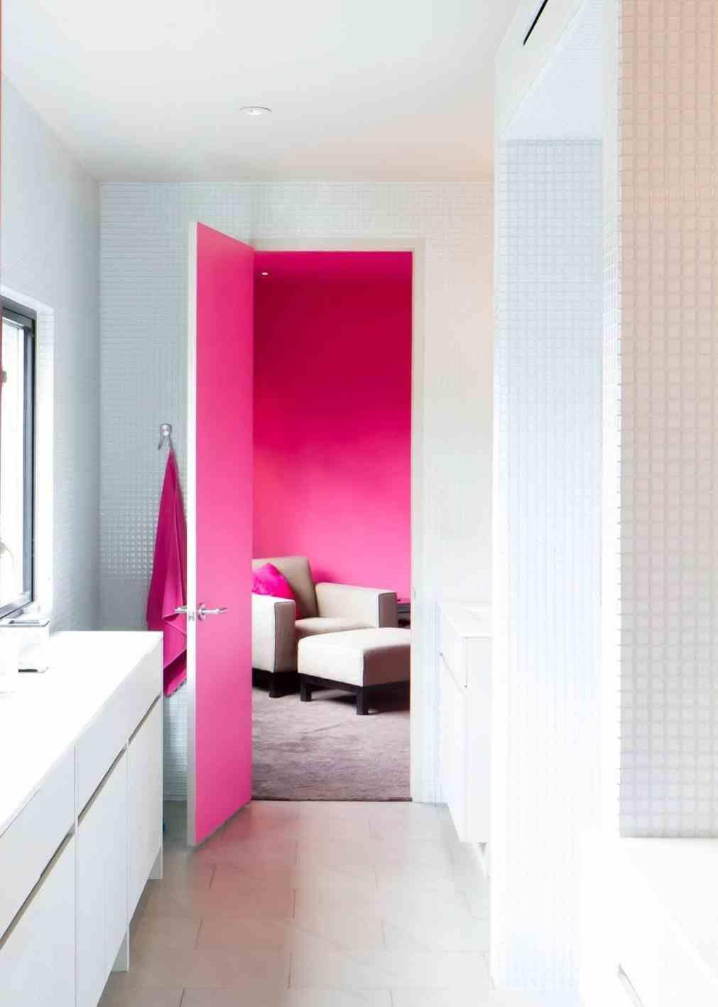hot pink bathroom decor | Home Ideas | Pinterest | Hot pink ...