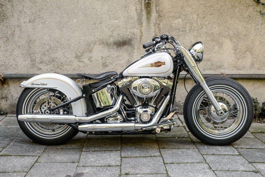 harley davidson softail bobber bikes bobber motorrad. Black Bedroom Furniture Sets. Home Design Ideas