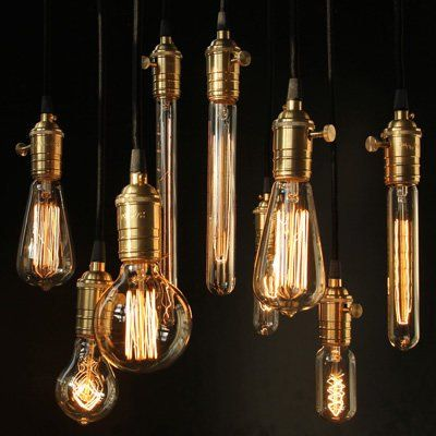 12er PACK Edison Vintage Lampe - Squirrel Cage - für Nostalgie und - lampe für küche