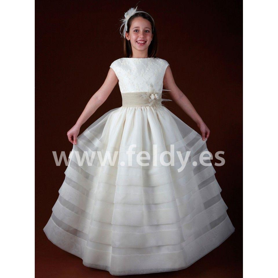 Vestido Comunión Devota Lomba 2012 B383 Dresses Communion Dresses Girls Dresses