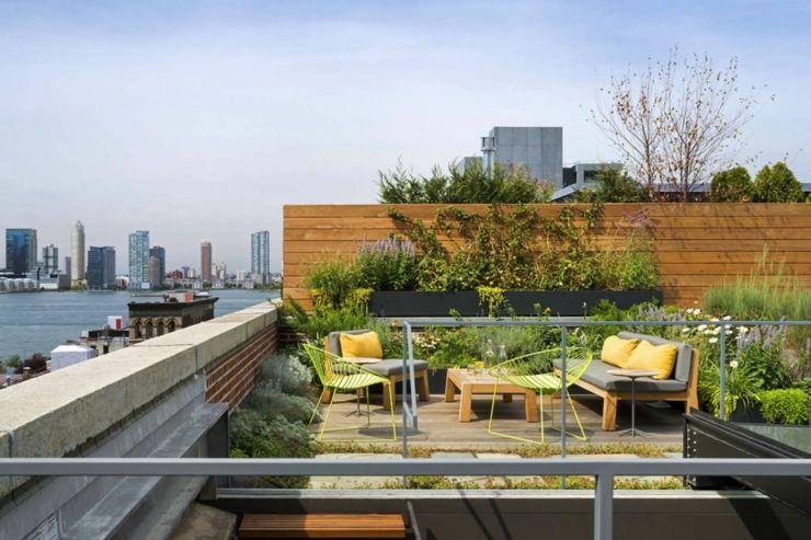 Beau Loft Industriel A Manhattan New York Les Terrasses Loft