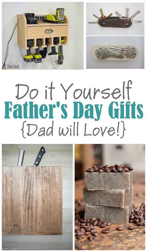 A do it yourself fathers day diy gift projects recipes and ideas the best do it yourself projects and diy gift ideas for dad this fathers day solutioingenieria Image collections