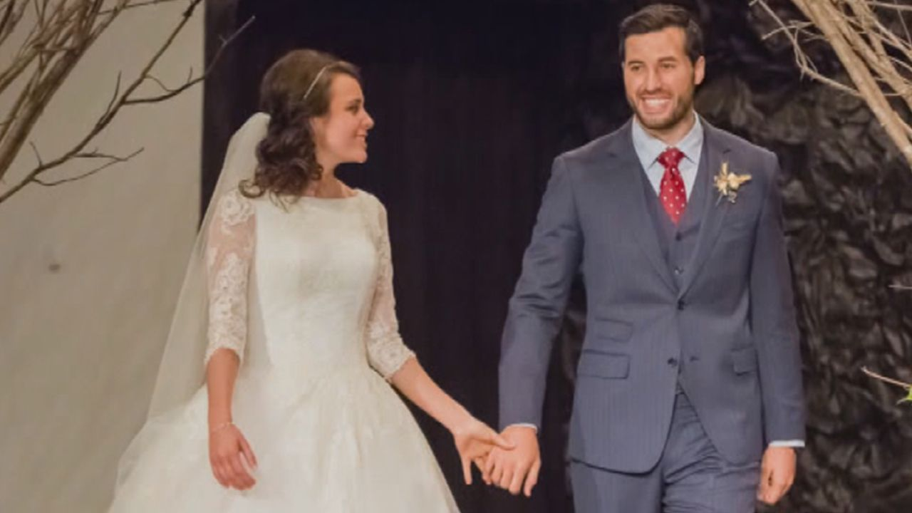 EXCLUSIVE Inside Jinger Duggars WoodlandThemed Wedding and