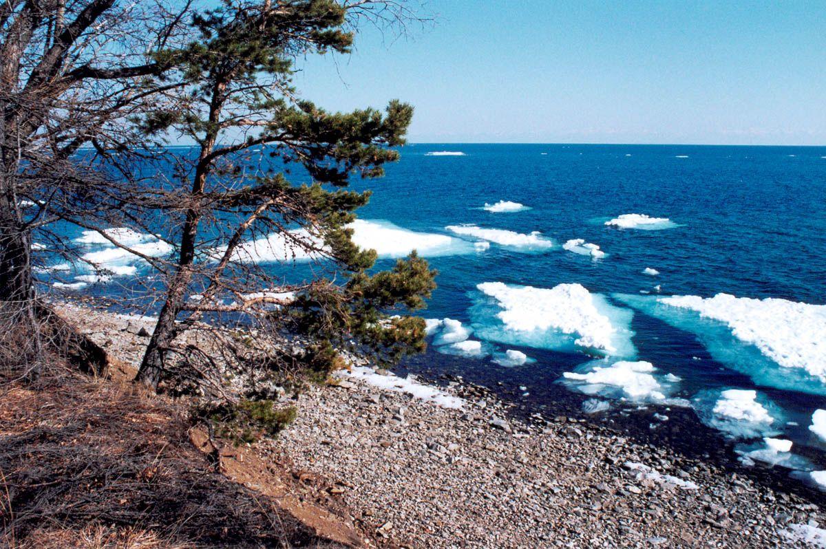 Байкал в мае фото