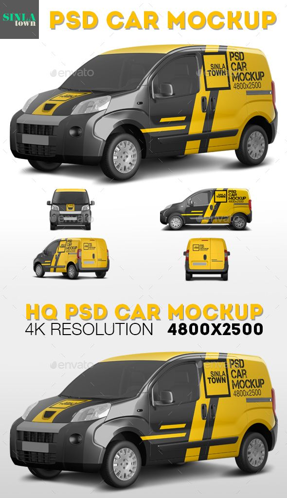 45 Free Psd Realistic High Quality Car Vehicle Mockups For Advertisement Free Psd Templates Psd Template Free Van Signwriting Car