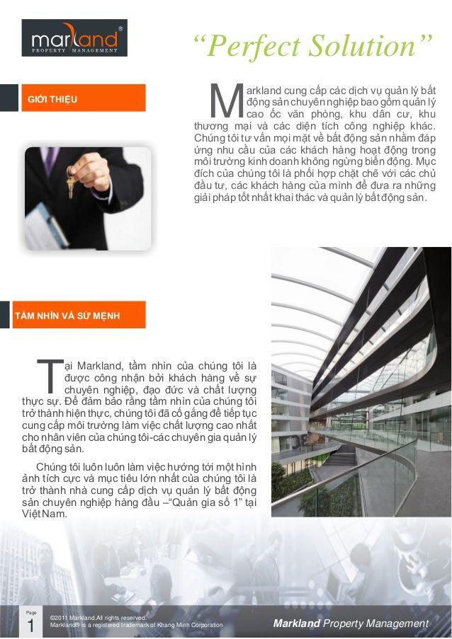 Markland Vietnam_Company Profile MARKLAND Pinterest Company