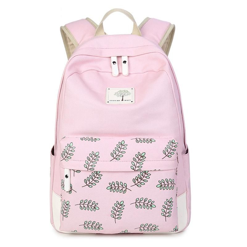 3bf645d340ad AOLIDA Canvas School Bag Backpack Girl Student College Bag Female 2017  Mochila Feminina Laptop Women Backpacks Printing Fashion.