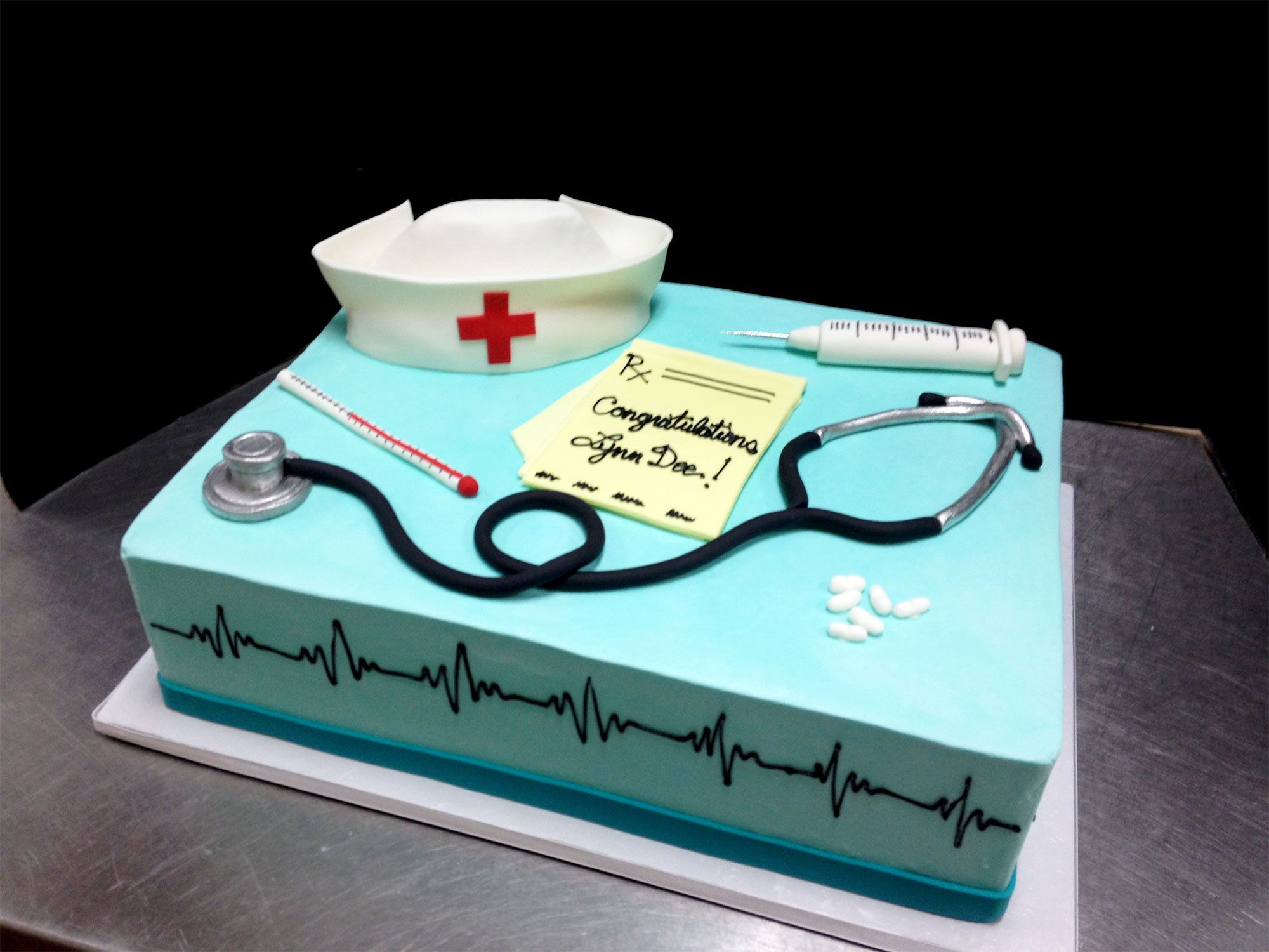 birthday cake for labor delivery nurses Google Search Kathy