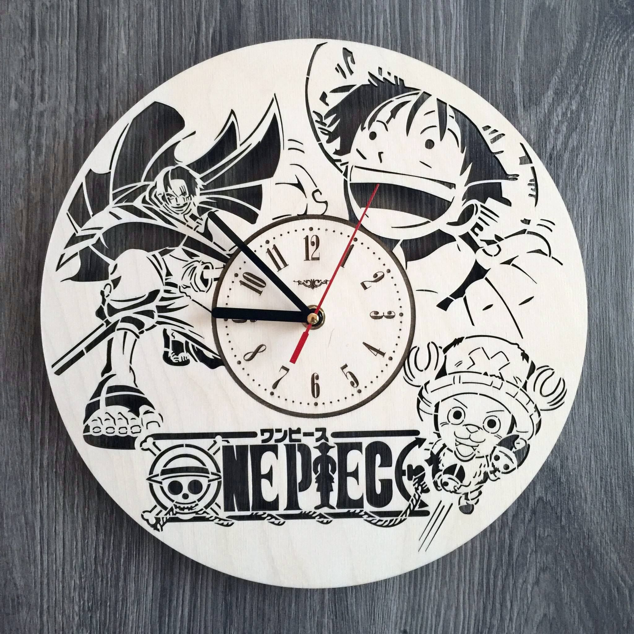 One Piece Wall Wood Clock For More Info And Details Visit Https 7arts Studio Diy Wood Wall Clock Wood Clocks