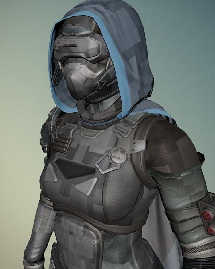 My guardian destiny the graphics are different because i