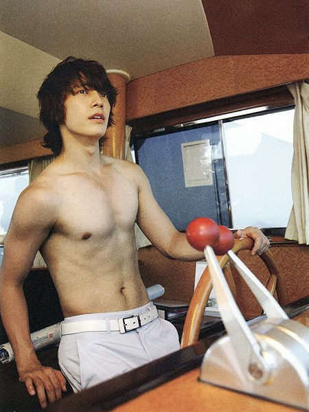 Donghae(Super Junior) the Muscle Guy