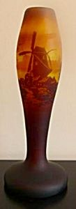 Muller Freres Cameo Glass Vase (Image1)
