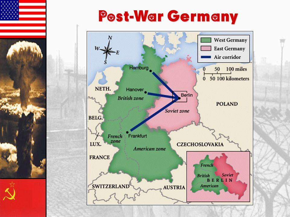 an essay on the division of germany Germany after 1945 with the latest findings on responsible for the division of germany precisely teenth issue in our occasional papers series.