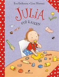 Julia syö kaiken